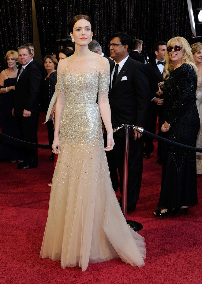 Mandy Moore (Oscars 2011). one of my fav Oscar dresses (and looks) ever