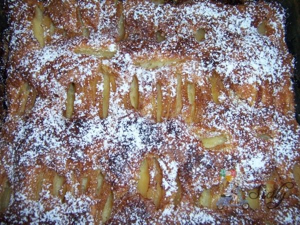 Daniela's Italian Apple Cake.....My friend Daniela makes the BEST Torta di Mele (Italian apple cake) in existence. Really, she does! It's super moist and just melts in your mouth. I had to beg for the recipe and promise to name my first born daughter after her….I hope she's not reading this!!!…..but no seriously, she gave me the recipe and we actually put it together....