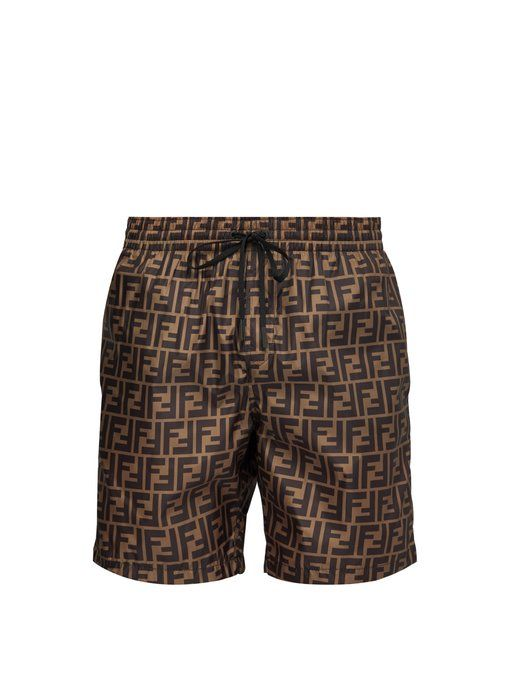 58a74c3dfd FENDI FF-printed swim shorts. #fendi #cloth | Clothes in 2019 ...