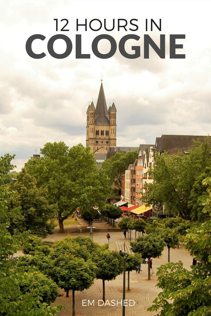 Wondering what to do with just 12 hours in Cologne, Germany? A few suggestions -- including the Kölner Dom, the Hohenzollern Bridge, Kölsch beer, and more.