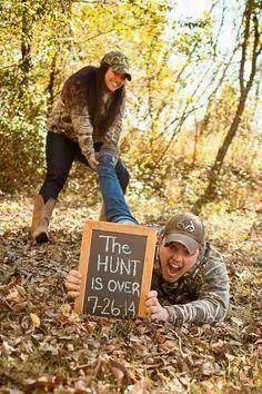Hehe funny engagement pic