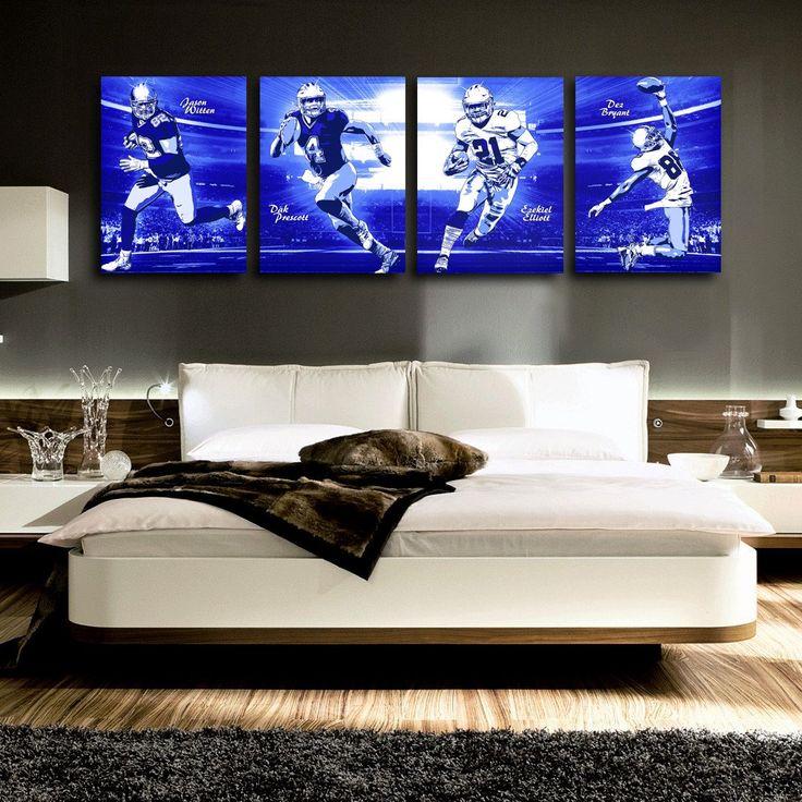 Dallas Cowboys Pop Art Buy Three Get One Free Poster Set