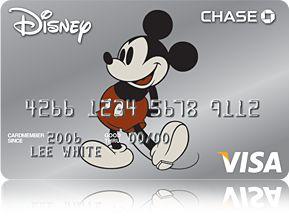 Disney Rewards(Registered Trademark) Visa (Registered Trademark) Card