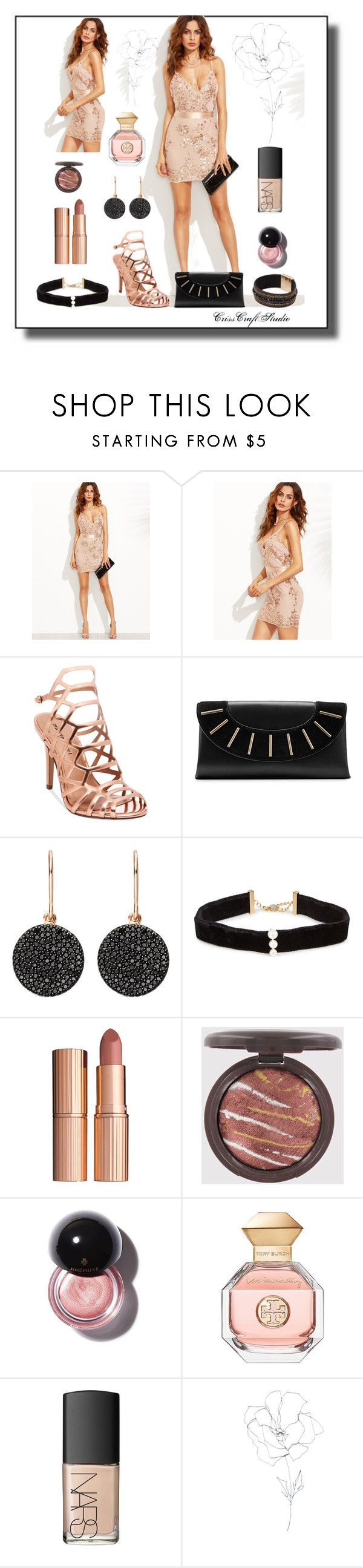 """""""Fashion"""" by crisscraftstudio ❤ liked on Polyvore featuring Madden Girl, Diane Von Furstenberg, Astley Clarke, Anissa Kermiche, Charlotte Tilbury, Tory Burch, NARS Cosmetics, Blume and Kate Spade"""