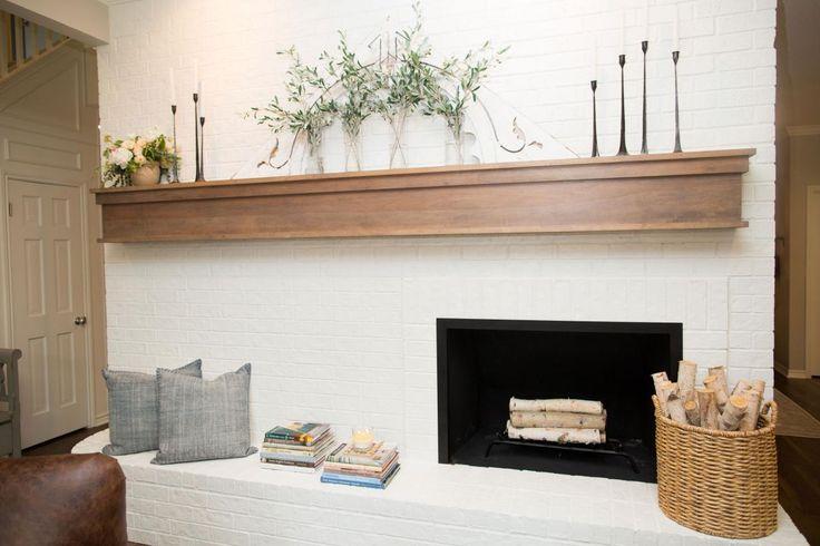 Kissen, Kaminkaminsimse, Chip Und Joanna Gaines, Gemauerte Kamine, Fixer  Upper, Für Freunde, Fireplace Redo, Fireplace Ideas, Wood Mantle