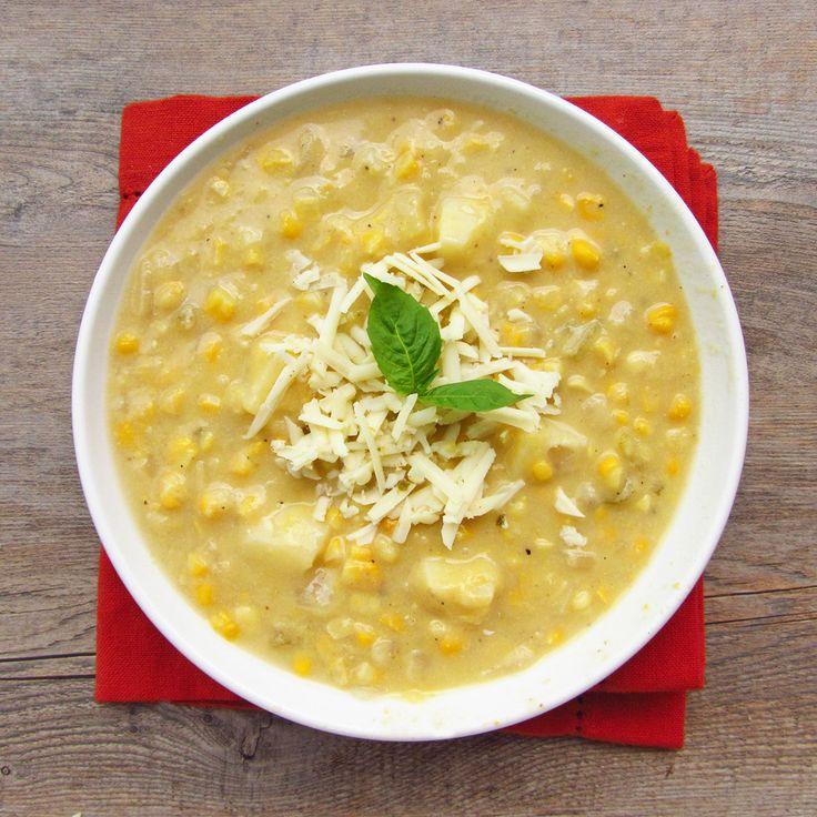 Corn chowder, Chowders and Pepper jack cheese on Pinterest