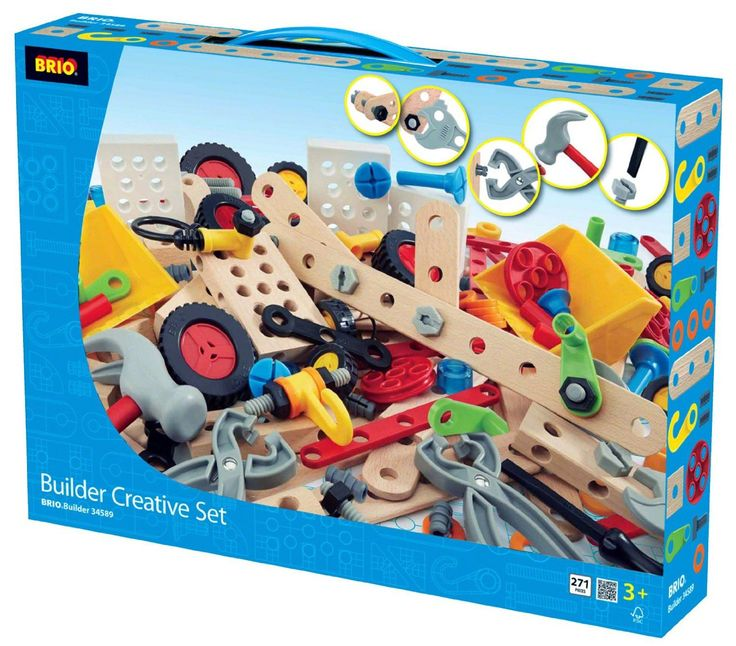 BRIO - Builder Creative Set - 270 pc (34589)