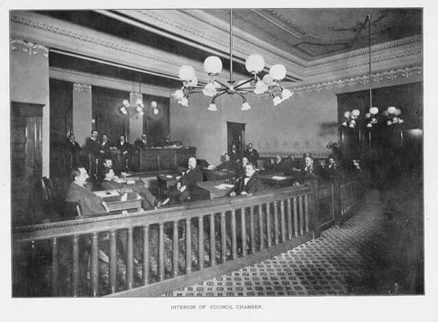 Lancaster City Council Chamber