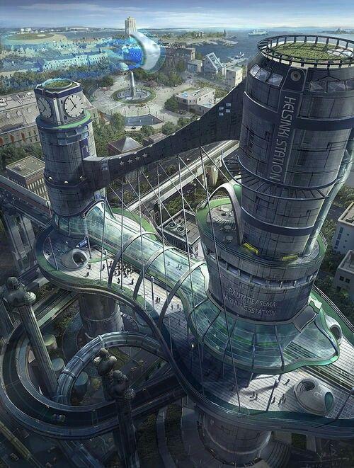 #architecture #fantastical #futuristic #concept #realms