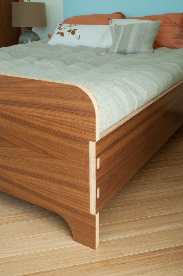 plywood bedroom furniture. Bed by Kerf Design  Detail shot of exposed joinery 12 best KERF bedroom furniture images on Pinterest