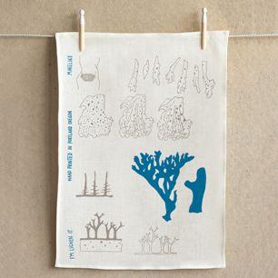 Makelike Tea Towel: I'm lichen it!