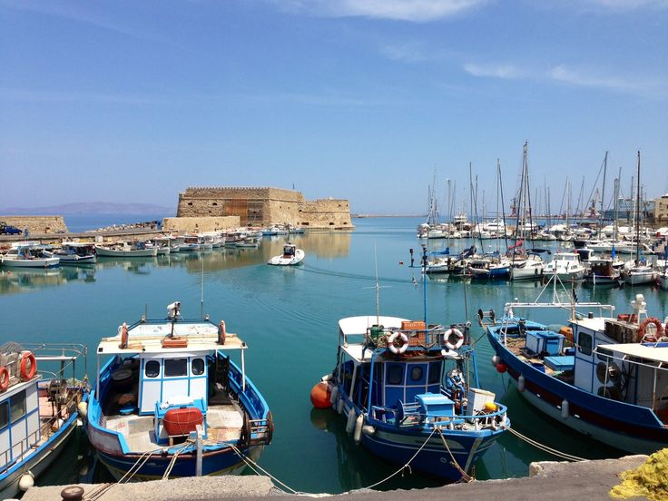 Heraklion is the capital of Crete.