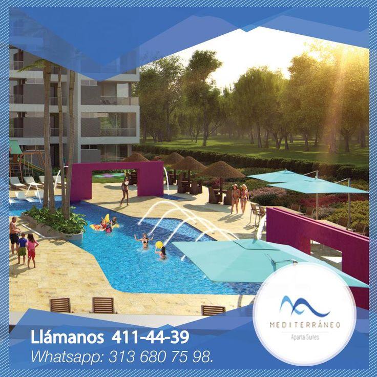 Mediterráneo es un proyecto atractivo y novedoso, con exclusivos diseños y ubicado a tan solo una hora de la ciudad de Medellín.