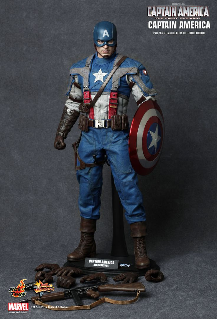 Hot Toys Captain America - Captain America: The First Avenger