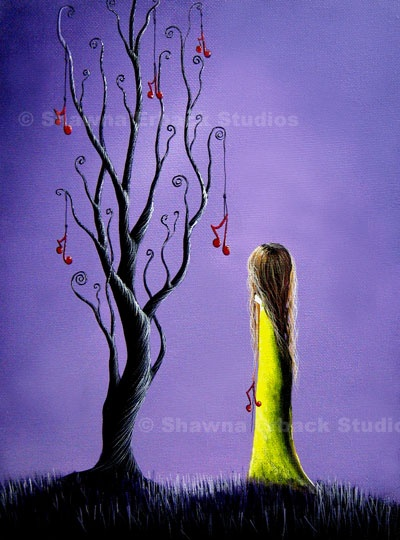 """Five Wishes Left"" , Shawna Erback: Art Work, Erback Art, Fantasy Art, De Shawna, Erback Collection, Art Prints, Artsy Stuff, Fave Artworks, Shawna Erback"