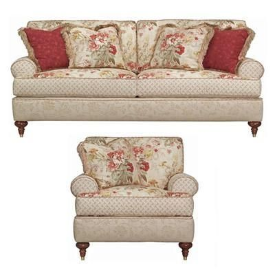 and Decorators: Kincaid Tuscany Cottage Classics Living Room Sofa and Chair  Collection by french_violet