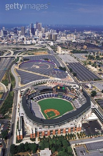 Royalty-free Image: Turner Field Atlanta Georgia USA