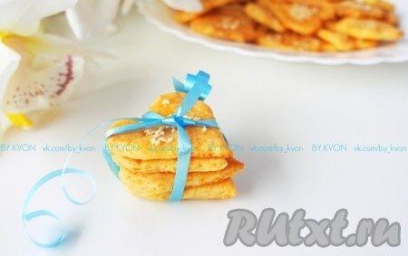 Крекеры с сыром, приготовленные по этому рецепту, отлично сочетаются как со…