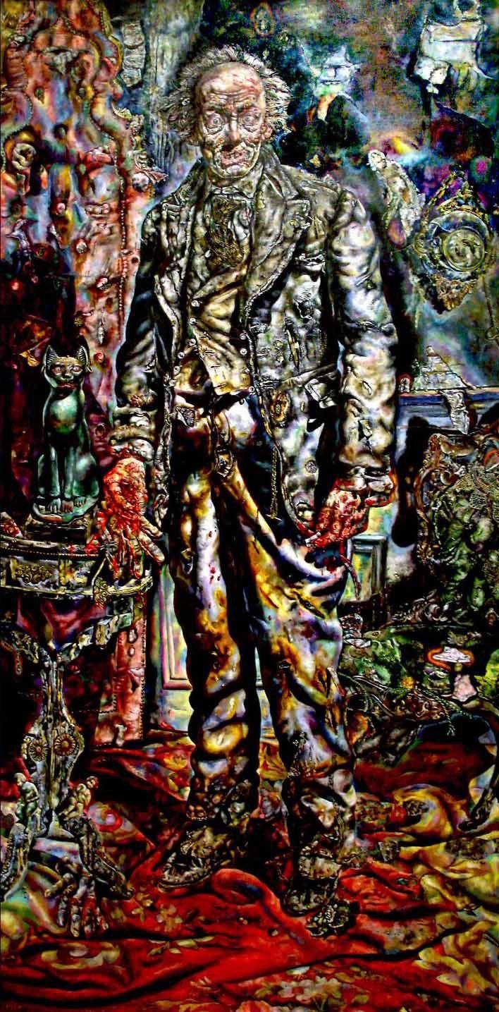 Ivan Albright, Le Portrait de Dorian Gray, 1943 1944,