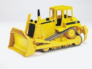 The CAT Bulldozer from the Bruder Construction collection - Discounts on all Bruder Toys at Wonderland Models.    One of our favourite models in the Bruder Construction range is the Bruder CAT Bulldozer.    Bruder manufacture wonderful, amazingly detailed models of all sorts of vehicles, particularly construction vehicles including this model of the CAT Bulldozer which can be complemented by any of the items in the Bruder Vehicles range.