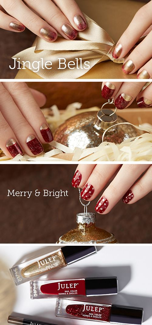 43 best Jingle Bells images on Pinterest | Holiday nails, Manicures ...