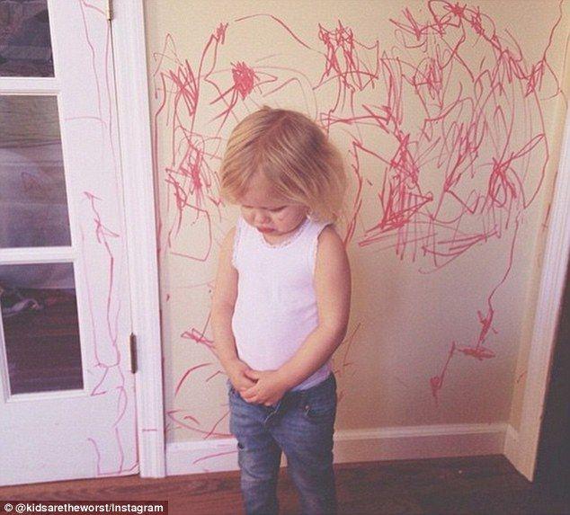 lo que pueden hacer lo niños en un descuido