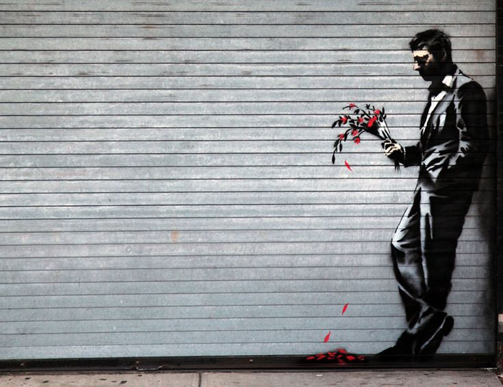 banksy's better out than in street art - part three