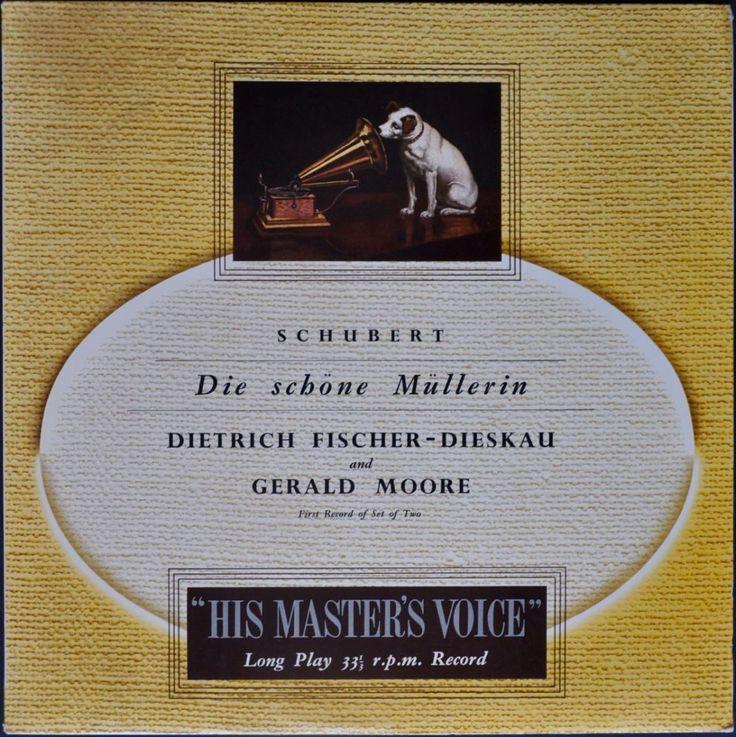 Schubert - Die Schöne Müllerin, Dietrich Fischer-Dieskau, Gerald Moore