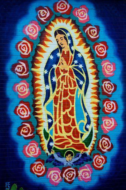Virgin Mary Mural | Flickr - Photo Sharing!