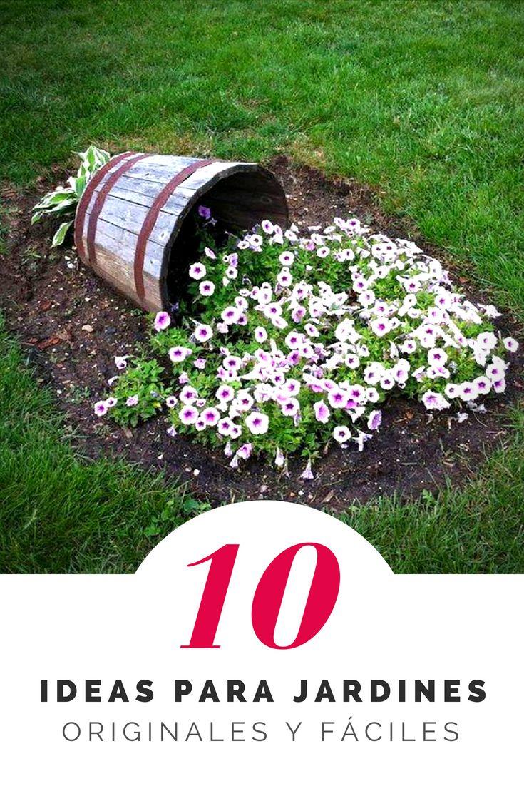 Ideas originales para decorar jardines - En Tutorial and Ideas Cafe Exterior, Cottage Exterior, Garden Styles, Garden Furniture, Backyard Landscaping, Vegetable Garden, Beautiful Gardens, Gardening Tips, Raised Beds