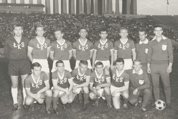 ŁKS podczas turnèe po USA i Kanadzie, przed meczem z mistrzem Bundesligi, Eintrachtem Brunszwik, 1967r.