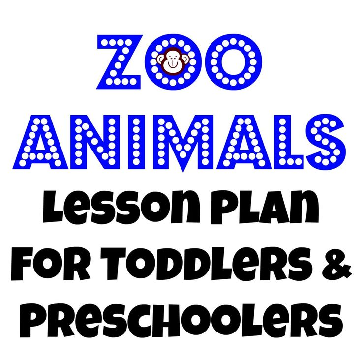 preschool lesson plans pets zoo animals lesson plan for toddlers and preschoolers 403