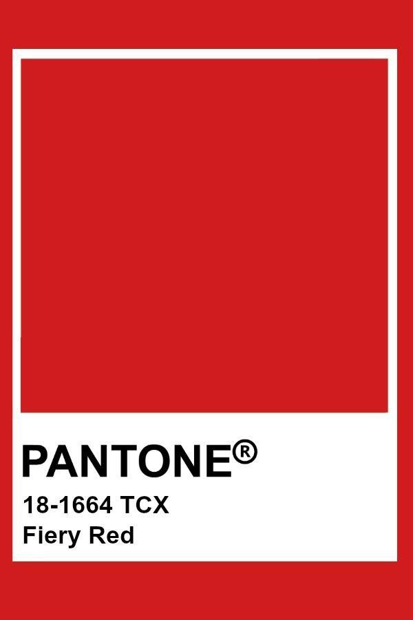 Pantone Fiery Red #fiery #pantone | Shop in 2019 | Pantone red