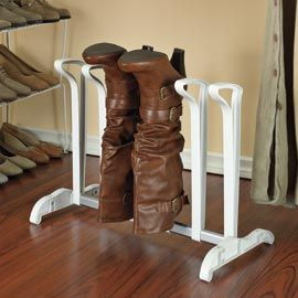 Boot rack holds the shape of your boots.