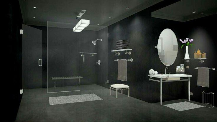 Luxury bathroom concept