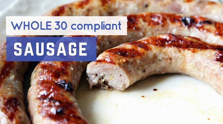Finding Whole30 sausage can be quite a challenge – most sausages are packed with sugarand preservatives, making them unsuitable for the Whole30 program. However, there are always a few gems you can usually find,...