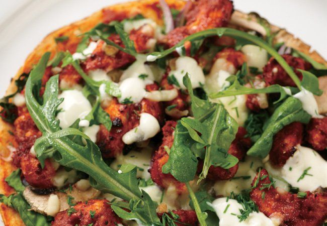 Chicken tandoori pizza recipe - Healthy pizza ideas - Women's Health & Fitness