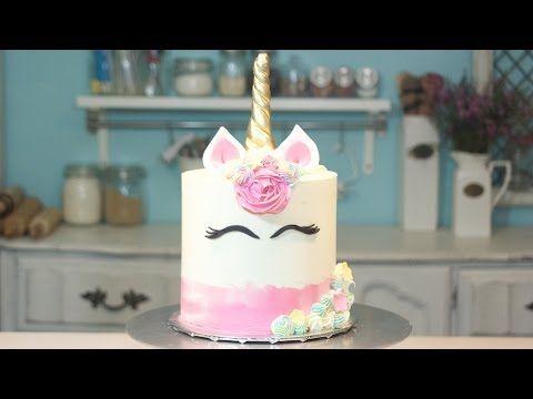 How to Bake Magical Multi-Colored Unicorn Macaron Tutorial - YouTube