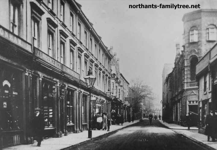 northampton town streets s-y