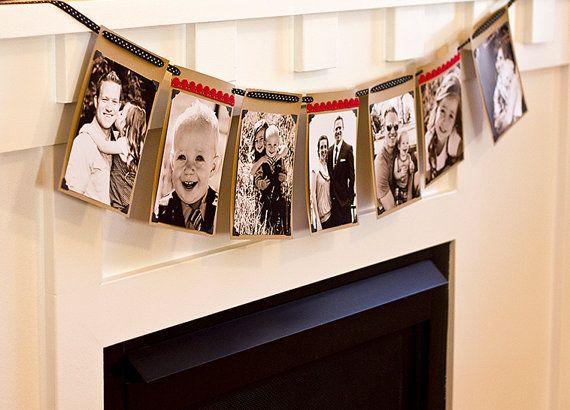 5x7 Photo Banner by SweetLemonsDesign on Etsy