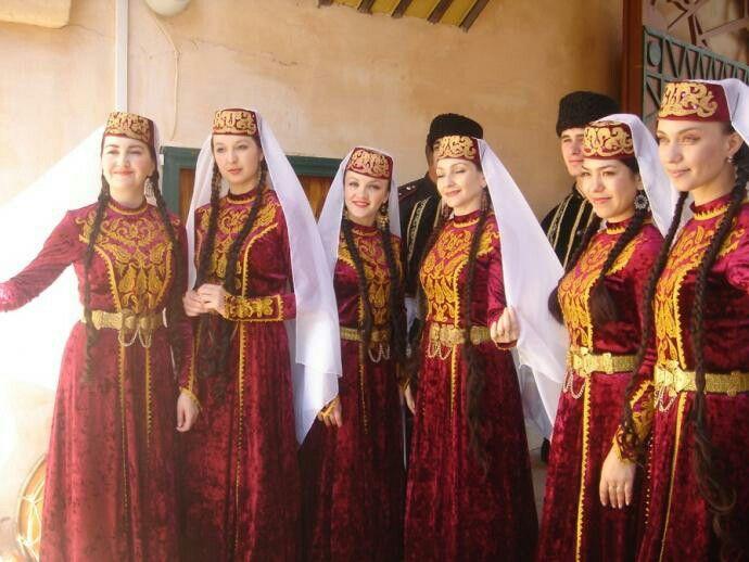 #татарский костюм   Одежда и Декорации
