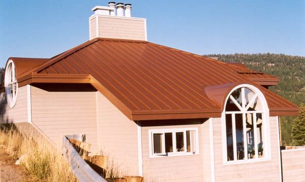 Copper Metal Roof Google Search New House Metal Roof