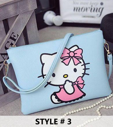 Hello Kitty Messenger Bag - 6 DESIGNS!