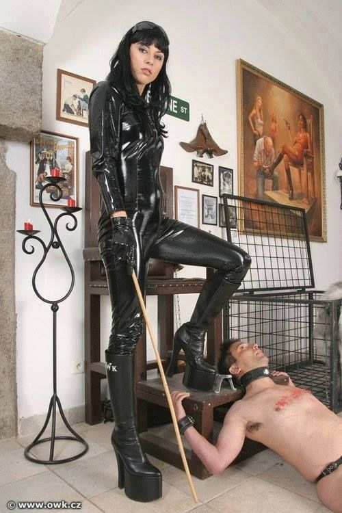 Boy bondage art