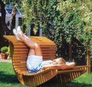 Кресло – качалка для сад…