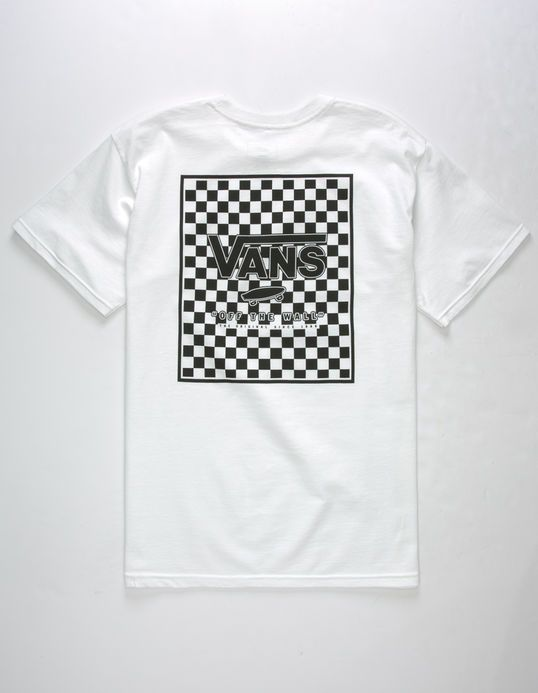 4c22224df1 VANS Print Box Checkerboard Mens T-Shirt
