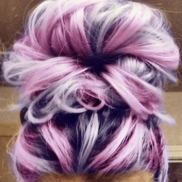 Awesome Mauve hair color!!