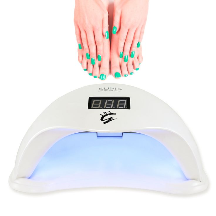 [Upgraded] SUN5 Plus 48W UV LED Nail Lamp- with 4 Timers & Motion Sensor, Drying All LED Gel / UV Gel /Builder Gel Nail Polish