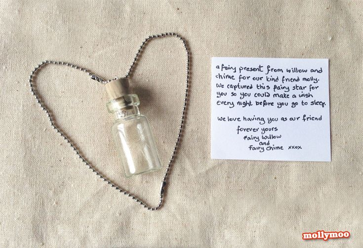 A little fairy bottle full with wishes / mollymoo