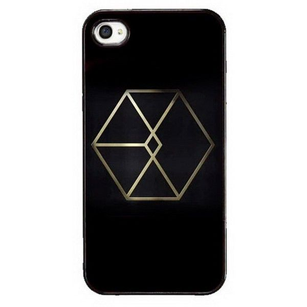 MY MARKET Kpop EXO Personal Number Iphone5/5S Plastic Phone Case Cover... ❤ liked on Polyvore featuring accessories, tech accessories and phone cases